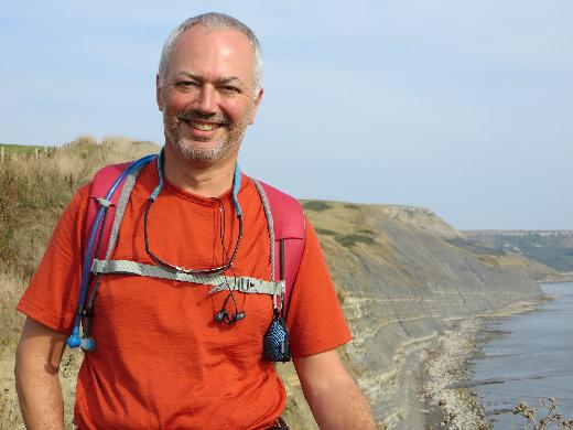 Peter Barrow on the Coast to Coast Walk